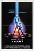 """Movie Posters:Science Fiction, Tron (Buena Vista, 1982). One Sheet (27"""" X 41""""). Science Fiction....."""