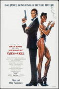 "Movie Posters:James Bond, A View to a Kill (United Artists, 1985). One Sheet (27"" X 41"")Advance Profile Style. James Bond.. ..."