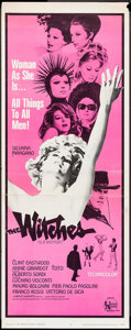 "Movie Posters:Foreign, The Witches (United Artists, 1967). Insert (14"" X 36""). Foreign.. ..."