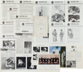 Explorers:Space Exploration, NASA: Collection of Twenty Early Photos and Publications includinga 1959 Congressional Report and Numerous Gemini-Related Ite...(Total: 14 Items)