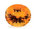 Gems:Faceted, Gemstone: Citrine - 8.65 Ct.. Brazil. 18.9 x 14 x 9.9 mm....