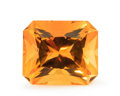 Gems:Faceted, Gemstone: Citrine - 5.97 Ct.. Brazil. 12.3 x 10.4 x 7.8 mm. ...