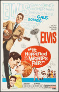 "Movie Posters:Elvis Presley, It Happened at the World's Fair (MGM, 1963). One Sheet (27"" X 41""). Elvis Presley.. ..."