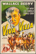 """Movie Posters:Western, Viva Villa! (MGM, R-1940s). Argentinean Poster (29"""" X 43.5""""). Western.. ..."""