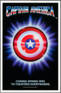 """Movie Posters:Action, Captain America (Columbia/Tristar, 1991). One Sheet (27"""" X 41"""") Advance. Action.. ..."""