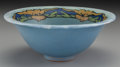 Ceramics & Porcelain, American:Modern  (1900 1949)  , A Saturday Evening Girls Paul Revere Pottery Bowl, Boston,Massachusetts, circa 1926. Marks: P.R.P. 10-26, (...