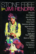 "Movie Posters:Rock and Roll, Stone Free: A Tribute to Jimi Hendrix & Other Lot (Reprise,1993). Album Posters (2) (23"" X 35"" & 24"" X 36""). Rock andRoll.... (Total: 2 Items)"
