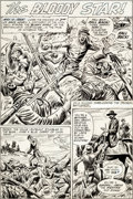 Original Comic Art:Complete Story, Fred Ray Our Army at War #237 Ulysses S. Grant Complete 8-Page Story Original Art (DC, 1971).... (Total: 8 Original Art)