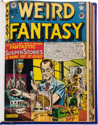 Weird Fantasy #13 (#1)-11 Bound Volume (EC, 1950-52)