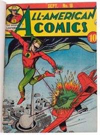 All-American Comics #18-21 Softcover Bound Volume (DC, 1940)