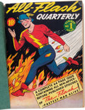 Golden Age (1938-1955):Superhero, All-Flash #1-7 Softcover Bound Volume (DC, 1941-42)....