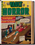 Golden Age (1938-1955):Horror, Vault of Horror #12-25 Bound Volume (EC, 1950-51)....