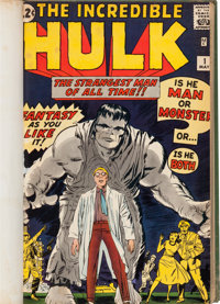The Incredible Hulk #1-6 and Others Bound Volume (Marvel, 1962-64)