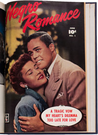 Negro Romance #1-3 and Others Bound Volumes (Fawcett Publications, 1950).... (Total: 2 Items)