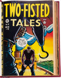 Golden Age (1938-1955):War, Two-Fisted Tales #18-29 Bound Volume (EC, 1950-52)....
