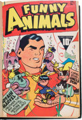 Golden Age (1938-1955):Funny Animal, Fawcett's Funny Animals Bound #1-13 Volume (Fawcett Publications,1942-43)....