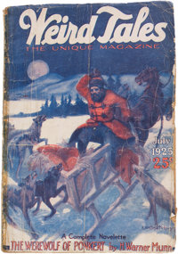 Weird Tales - July 1925 (Popular Fiction) Condition: FR