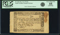 Colonial Notes:South Carolina, South Carolina 1777 (December 23, 1776 Act) $2 Fr. SC-136a. PCGSVery Choice New 64 Apparent.. ...