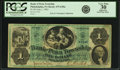Obsoletes By State:Pennsylvania, Philadelphia, PA - Bank of Penn Township $1 June 1, 1861 PA-475 G50a, Hoober 305-112. PCGS Very Fine 30 Apparent.. ...