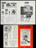 "Movie Posters:War, The Great Escape & Others Lot (United Artists, 1963).Pressbooks (63) (Multiple Pages, 11""-18"" X 15""-18""). War.. ...(Total: 63 Items)"