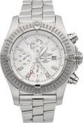 Timepieces:Wristwatch, Breitling Super Avenger Chronograph Certified Chronometer Wristwatch. ...