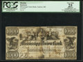 Obsoletes By State:Mississippi, Jackson, MS- Mississippi Union Bank $1000 Apr. 1, 1839 G46 Kraus 3716g. ...