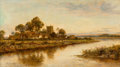 Fine Art - Painting, European:Antique  (Pre 1900), Daniel Sherrin (British, 1868-1940). View Near Worcester.Oil on canvas. 24 x 42 inches (61.0 x 106.7 cm). Signed lower ...