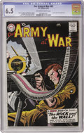 Silver Age (1956-1969):War, Our Army at War #83 (DC, 1959) CGC FN+ 6.5 Off-white to white pages....