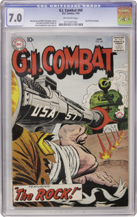 G.I. Combat #68 (DC, 1959) CGC FN/VF 7.0 Off-white pages