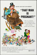"""Movie Posters:Comedy, That Man is Pregnant! (August Films, 1972). Flat Folded One Sheet(27"""" X 41"""") & Uncut Pressbooks (55) (4 Pages, 11"""" X 17""""). ...(Total: 56 Items)"""