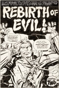 Original Comic Art:Panel Pages, Jack Kirby and Mike Royer The Demon #12 Splash Page 6Original Art (DC, 1973)....