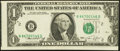 Error Notes:Miscellaneous Errors, Fr. 1908-B $1 1974 Federal Reserve Note. Extremely Fine.. ...