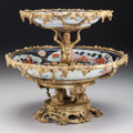 Ceramics & Porcelain, A Continental Gilt Bronze Mounted Japanese Imari Porcelain Two-Tier Tazza, circa 1890. 10-3/4 h x 12 d inches (27.3 x 30.5 c...
