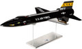 "Explorers:Space Exploration, X-15 NASA U.S. Air Force Rocket-Powered Aircraft Model, 1/15 Scale(40"" Long), Tail Number 66672. ... (Total: 2 )"