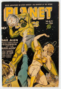 Golden Age (1938-1955):Science Fiction, Planet Comics #36 (Fiction House, 1945) Condition: FN-....