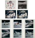 "Explorers:Space Exploration, Apollo 15: Ten Original NASA Photos including Nine ""Red Number"" Examples. ... (Total: 10 Items)"
