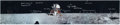 "Autographs:Celebrities, Edgar Mitchell Signed and Annotated Apollo 11 Panoramic LunarSurface ""Moonpans"" Color Photo. ..."