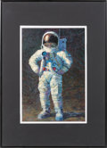 "Explorers:Space Exploration, Alan Bean Signed Open Edition ""Feelin' Fine"" Print. ..."