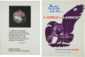 Explorers:Space Exploration, NASA Manned Flight Awareness Posters: Collection of Four OriginalsRegarding the Apollo Moon Missions. ... (Total: 4 Items)