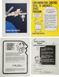 Explorers:Space Exploration, NASA Manned Flight Awareness Posters: Collection of EightOriginals, all Featuring Snoopy.... (Total: 8 Items)