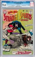 Silver Age (1956-1969):Adventure, The Brave and the Bold #49 Strange Sports Stories - Pacific Coast Pedigree (DC, 1963) CGC NM+ 9.6 White pages....