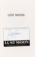 Autographs:Celebrities, James Lovell Signed Book: Lost Moon. ...