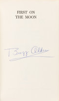 Autographs:Celebrities, Buzz Aldrin Signed Book: First on the Moon. ...
