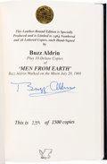Autographs:Celebrities, Buzz Aldrin Signed Limited Edition Book (#239/1500): Men FromEarth. ...