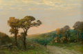 Fine Art - Painting, American:Modern  (1900 1949)  , Edward Loyal Field (American, 1856-1914). The Road Home. Oilon canvas. 20 x 30 inches (50.8 x 76.2 cm). Signed lower le...