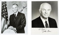 Autographs:Celebrities, John Glenn Signed Photos (Two). ... (Total: 2 Items)