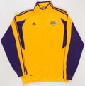 Basketball Collectibles:Uniforms, 2000's Sasha Vujacic Game Worn Memorabilia Lot of 5....