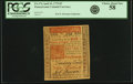 Colonial Notes:Pennsylvania, Pennsylvania April 10, 1775 5 Pounds Fr. PA-176. PCGS Choice AboutNew 58.. ...