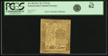 Colonial Notes:Pennsylvania, Pennsylvania October 25, 1775 6 Pence Fr. PA-183. PCGS New 62.. ...