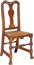 Furniture , An Important Queen Anne Maple Side Chair, Attributed to John Gaines III (1704-1743), Portsmouth, New Hampshire, circa 1730. ...